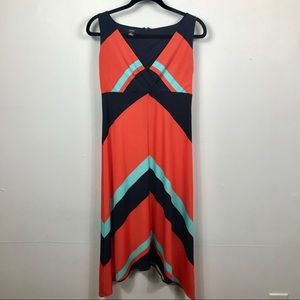 ‼️4/$25‼️ Alfani midi chevron dress